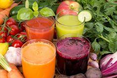 vegetable-juice Batidos caseros, desintoxicantes y adelgazantes.