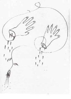 """""""Tú querías que yo te dijera el secreto de la primavera"""" FedericoGarciaLorca_Dibujo."""