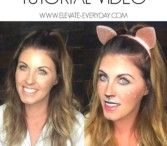 Halloween Deer Make Up Tutorial Video