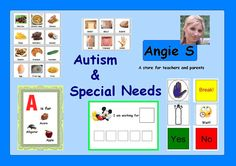 Resources for Teachers and Parents! Autism & Special Needs, Pre-K, K, 1st.