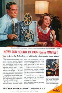 1966 Kodak Projector Ad