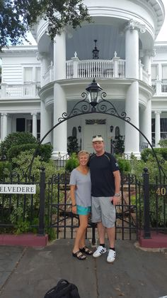 The Belvedere in Charleston S.C a fabulous B&B ...a luxurious,welcoming,historical place. Walking distance to everything!