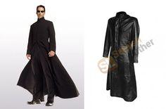 Matrix Keanu Reeves Neo Coat