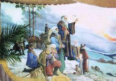 Velký Újezd (okres Olomouc): Komenský se loučí s vlastí, 1925 Autor: Ateilér Bořa Bárta v Přerově Czech Republic, Painting, History, Author, Painting Art, Paintings, Paint, Draw