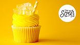 Vainilla Bean Cupcake by The Scran Line