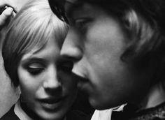 Marianne Faithfull and Mick Jagger. Love me some Marianne Faithfull. Mick Jagger, Marianne Faithfull, Marius Et Jeannette, Beatles, Photo Star, Hippie Man, Portraits, Thats The Way, Famous Women