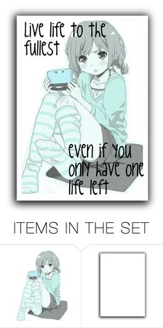"""Live your life"" by dark-queen12 on Polyvore featuring art"