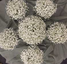 Baby's breath bridal  bouquets by Nancy at Belton Hyvee.
