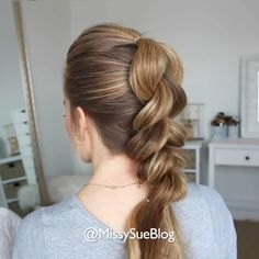 10 Pull Through Braid Tutorial Easy Ideas Easy Hairstyles For Long Hair, Braided Hairstyles, Short Hair Updo, Casual Hairstyles, Party Hairstyles, Braided Updo, Girl Hairstyles, Wedding Hairstyles, Medium Hair Styles