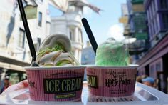 Comprehensive guide to the specialty drinks, meals, and desserts in Diagon Alley