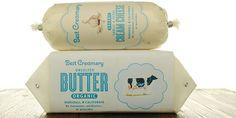 チーズやバターのコンセプトパッケージ。かわいい