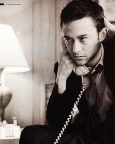 Joseph Gordon-Levitt. I've been in love with him since his 3rd Rock From the Sun days!
