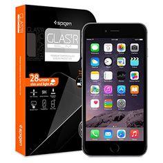 iPhone 6 Plus Screen Protector, Spigen® iPhone 6 Plus (5.5) Screen Protector Glass Slim [GLAS.tR SLIM] (0.4mm) Rounded Edges Glass Screen Protector for iPhone 6 Plus (5.5) (2014) - GLAS.tR SLIM (SGP10878) - http://www.rekomande.com/iphone-6-plus-screen-protector-spigen-iphone-6-plus-5-5-screen-protector-glass-slim-glas-tr-slim-0-4mm-rounded-edges-glass-screen-protector-for-iphone-6-plus-5-5-2014-glas-tr-slim/