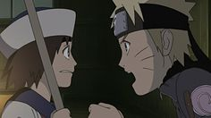Naruto's ship is stranded at sea due to heavy fog, when another ship suddenly appears.