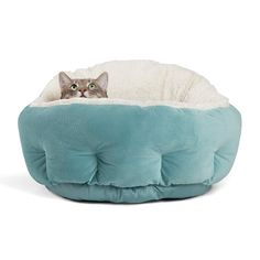 Best Friends by Sheri OrthoComfort Deep Dish Cuddler - Self-Warming Cat and Dog Bed Cushion for Joint-Relief and Improved Sleep - Machine Washable, Waterproof Bottom - for Pets Up to Heated Cat Bed, Bed Cushions, Sofa Bed, Cat Accessories, Pet Life, Cat Supplies, Cat Furniture, Pet Beds, Cool Cats