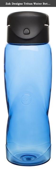 Zak Designs Tritan Water Bottle with Flip Lid, 26-Ounce, Verve Blue Arctic Design. Since 1976, Zak Designs has been committed to making mealtime fun for people around the world. Whether it's through dinnerware and on-the-go products that feature children's favorite characters or tableware and kitchen prep products that represent the latest global fashion statements, Zak gives people the mealtime products that fit their appetites.