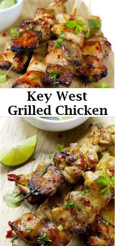 These easy grilled chicken Recipes that are some of the best in the world. Grilled chicken dishes as everyone looks forward to these dish on the table. Grilling Recipes, Cooking Recipes, Healthy Recipes, Grilling Ideas, Food Dishes, Main Dishes, Le Diner, Grilled Chicken, Entrees