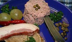 Kořeněná paštika se zeleným pepřem a domácím sádlem recept - TopRecepty.cz Pork, Beef, Cleaning, Kale Stir Fry, Meat, Home Cleaning, Pork Chops, Steak