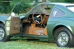 Green 1969 Opel GT Door Open