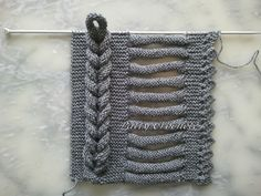 Geflochtener Schal, Tutorial (DIY) - Patty gehäkelt Geflochtener Schal, Tutorial (DIY) - Patty gehäkelt , Always aspired to . Knitting Stiches, Finger Knitting, Crochet Stitches, Hand Knitting, Knit Crochet, Knitting Scarves, Crochet Braids, Stitch Patterns, Knitting Patterns