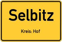 Straßen in Selbitz - Straßen- und Ortsinformationen