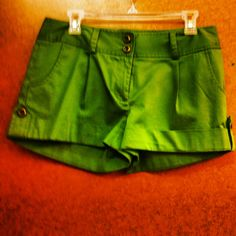 Kensie shorts @ the Goodwill on Beverly and Fairfax only 4.49 (ps. they didn't fit so their still there! Get on that.)