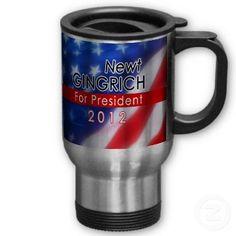 Newt Gingrich for President 2012 Coffee Mug