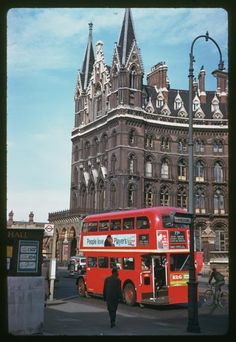 St. Pancras station in 1961