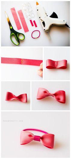 Tutorial foto - ornamente de par pentru fetite | DIY pentru copii