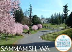 Sammamish, WA: The 2nd Safest City in Washington. full list of 50 on site