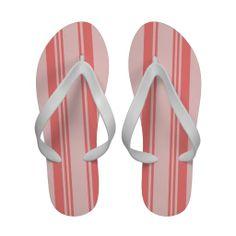 711b027c6 irregular pink stripes sandals Striped Sandals