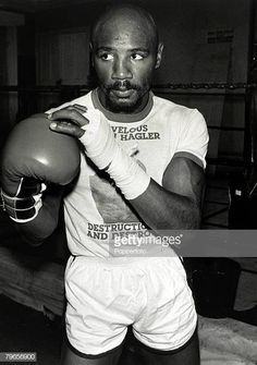 Sport Boxing World Middleweight Title pic September 1980 USA's Marvin Hagler training in London for his fight with Great Britain's Alan Minter. Julio Ceasar, Marvelous Marvin Hagler, Archie Moore, Sugar Ray Robinson, Roy Jones Jr, Sport Boxing, Joe Louis, Boxing