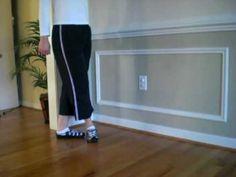 Basic Irish Dance step -- Leap 23's
