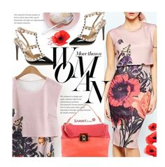 Spring Slyle: Floral Print Dress by beebeely-look on Polyvore featuring Lanvin, Sarah Jessica Parker, dress, SpringStyle, sammydress, springfashion and StreetChic