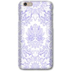 Lavender iPhone 6S Case, Bohemian iPhone 5S Case, Purple iPhone 5C... ($25) ❤ liked on Polyvore featuring accessories and tech accessories
