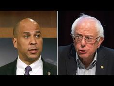 Bernie Sanders Stabbed In The Back By Big Pharma Sellout Cory Booker - YouTube