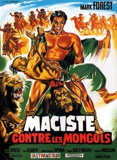 Hercules Against the Mongols (Maciste contro i Mongoli ~origiinal title) (1963) Stars: Mark Forest, José Greci, Maria Grazia Spina ~  Director: Domenico Paolella