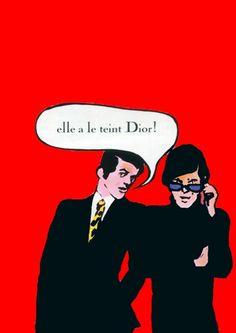 Christian Dior, 1971.