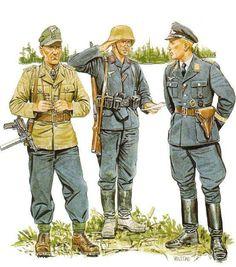 .tyske luftwaffe soldater i Rusland