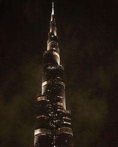 "10 Likes, 3 Comments - Fun Desert Safari (@fundesertsafari) on Instagram: ""#Repost @jess_pierrard ・・・ The biggest symbol of Dubaï, shining in the dark ✨  #dubai #uae…"""