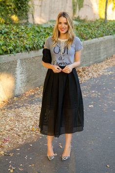 How to flaunt your mini, midi, and maxi