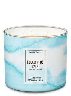 White Barn - Eucalyptus Rain Candle by Bath & Body Works