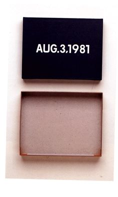 """#ART   On Kawara    """"The flow of the brushstroke shows that the artist has painted all the figures freehand, occasionally correcting uneven outlines with the dark color of the background. To me, Kawara is a master of calligraphy, a man of belief and, of course, one of the great artists of our time"""" -Christian Scheidemann"""