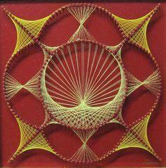 string art mandala - Cerca con Google