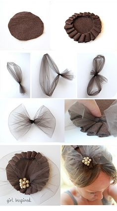 Fascinators - 574 pins - TUTORIALS!!! /cilererbil/vintage-hats-and-diy-flowers/   START beginning!