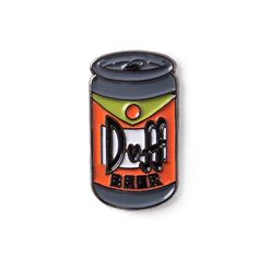 DUFF BEER Can from The SIMPSONS TV Series Enamel lapel pin 8.95$ Perfect Accessory for Jackets, Hats, and Bags!