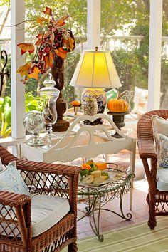 Nell Hill's Garden Room - Fall relaxing spot!