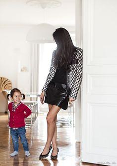 Style Story: Melanie / Melanie Huynh, Louis Vuitton, Saint Laurent / Garance Doré