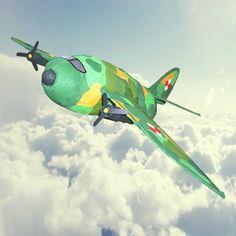 Samolot militarny www.ekopiniata.pl