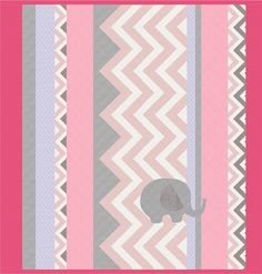 Ele-Fun Quilt Pattern- in pink! Make it in 3 colorways: Blue, Pink, Lemon! Features Kozy Cuddle Solids http://www.shannonfabrics.com/img-border0-srcicons8x8pngnbspkozy-cuddle-collection-c-915.html and Cuddle Prints in Chevrons & ZigZags http://www.shannonfabrics.com/new-arrivals-chevrons-zigzags-c-933_932.html. http://shannonfabrics.com/download_patterns/Ele-FunPattern.pdf